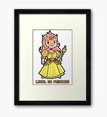 Level 20 Princess Framed Print