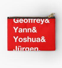 Geoffrey & Yann & Yoshua & Jürgen (white) Studio Pouch