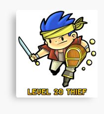 Level 20 Thief Canvas Print