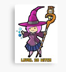 Level 20 Witch Canvas Print