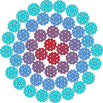 Playing with Circle packing  by rupertrussell