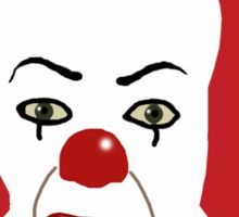 Pennywise the Clown from Stephen King's IT Sticker