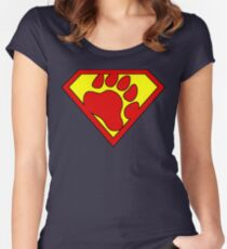 The Last Bear Of Krypton  Women's Fitted Scoop T-Shirt