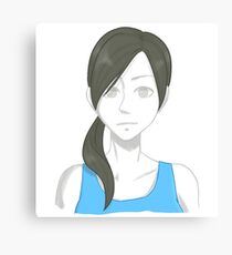 Video Game Headshot | Wii Fit Trainer Canvas Print