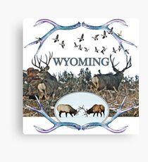 Wyoming wildlife  Canvas Print