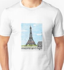 Eiffel Tower in Spring T-Shirt