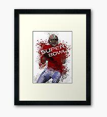 Super Bowl Art 1 Framed Print