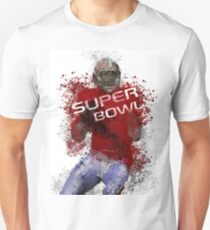 Super Bowl Art 1 Unisex T-Shirt