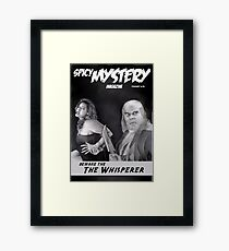 SPICY MYSTERY Framed Print