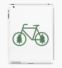 Pacific Northwest Bike - Pine Tree Bicycle - Cycling iPad Case/Skin