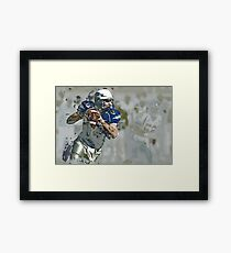 American Football Art 3 Framed Print