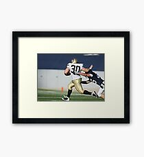 American Football Photo 3 Framed Print