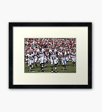 American Football Photo 4 Framed Print