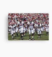 American Football Photo 4 Canvas Print