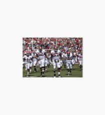 American Football Photo 4 Art Board