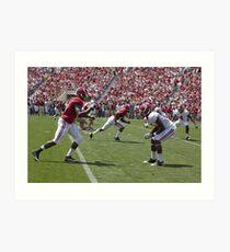 American Football Photo 1 Art Print
