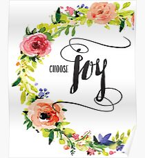 Choose Joy Poster