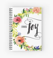 Choose Joy Spiral Notebook