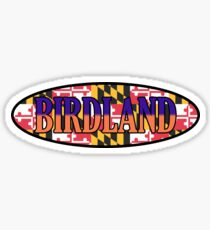 THIS IS BIRDLAND! Sticker