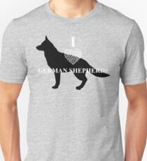 I Lover German Shepherds - Loyalty Gear T-Shirt