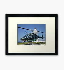 JetRanger on South Solitary Island Framed Print