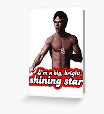 Dirk Bright Shining Star Greeting Card