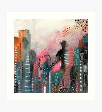 Magical City Art Print