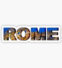 Pegatina Letras del Coliseo de Roma