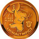 Animalympics Badge - The Sticker! by LurkingGrue