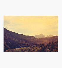 Austrian Alps Photographic Print