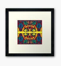 Cosmic Designs Abstract Pattern Artwork Framed Print