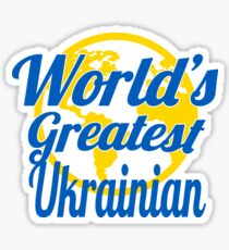 World's Greatest Ukrainian Sticker