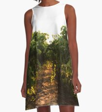 Morning In The Valley A-Line Dress