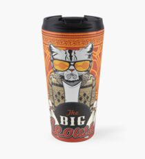 The Big Meowski Travel Mug