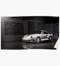 Porsche 959 Poster