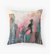 Magical City Throw Pillow