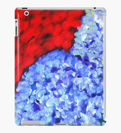Blue on Blue iPad Case/Skin