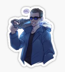 Captain Cold Sticker