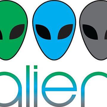 Alien by HalfBlueStar