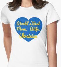 World's Best Mom, Wife, Ukrainian T-Shirt