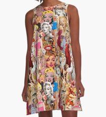 Marilyn Monroe A-Linien Kleid