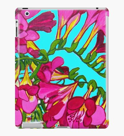 Freesias iPad Case/Skin