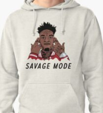 """21 Savage """"Been In Savage Mode""""  Pullover Hoodie"""