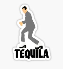 Pee Wee Herman Tequila Movie art Sticker
