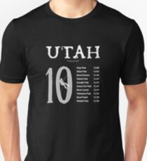 Utah 10  T-Shirt
