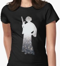 Space Princess Women's Fitted T-Shirt
