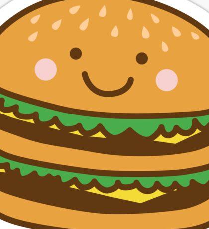 Cute Hamburger Sticker