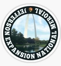 Jefferson Expansion National Memorial Sticker