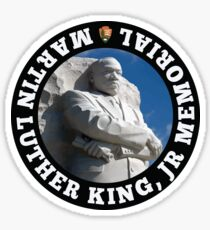 Martin Luther King, Jr Memorial Sticker