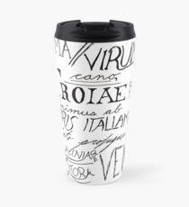 The Aeneid Beginning Travel Mug